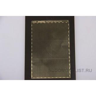 Набор сеток, шаг 1.0 мм, 3 сетки 30х60 мм
