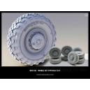 Набор колес для МаЗ-537 (8 шт)