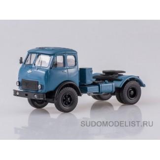 Масштабная модель МАЗ-504 (синий) тягач