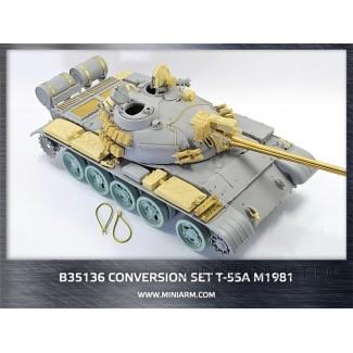 Конверсионный набор Т-55А м1981г