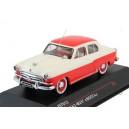 Горький М21 (1956), белый с красным