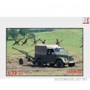 Автомобиль Г@3-69 с безоткатным орудием 82 мм Bzk vz.59