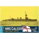 HMS Caledon Light Cruiser, 1923