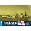 HMS Caledon Light Cruiser, 1941 fit