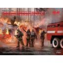 Фигуры, Советские пожарные (1980-е г.г.) (4 ШТ)