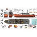 Набор для Soya Antarctica Observation Ship