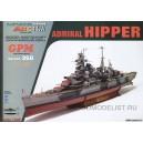 """Тяжелый крейсер """"Admiral Hipper""""+стволы"""