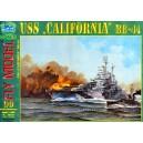"""Линкор USS """"California"""""""