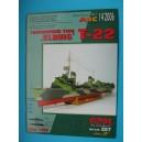 "Миноносец T-22 ""Elbing""+стволы+фтд"