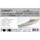 Набор для USS BB-63 Missouri 1945 Detail up set (No wooden deck)