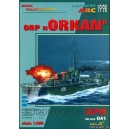 "Эсминец ORP ""Orkan""+стволы"