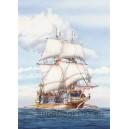 Корабль парусник Galion Espanol