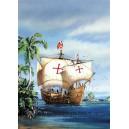 Корабль парусник Pinta