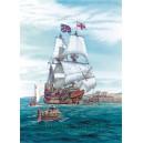 Корабль парусник Mayflower