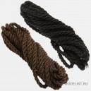 Нить кабельной работы черная 1.5мм, ~1 метр