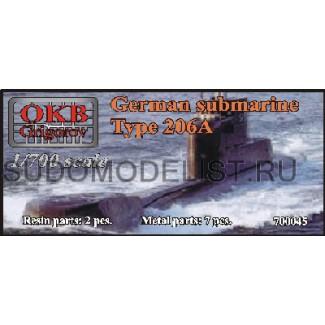 Подводная лодка проекта 206А