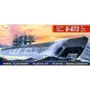 U-673 typ U-VIIIC Turm II