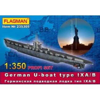 Германская подлодка тип IX A/B ProfiSet