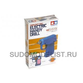 Электрическая ручная дрель