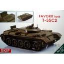 """Танк-Т-55С2 """"Фаворит"""""""