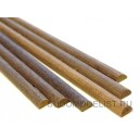 Полукруглая заготовка 3х1000 мм, орех, 1шт