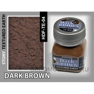 Смесь Темно-коричневая крупная