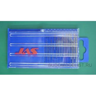 Набор мини-сверла, D 0.3-1.6 мм (20шт)