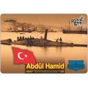 Подводная лодка Abdül Hamid, 1886