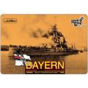 German Battleship SMS Bayern, 1916г