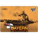 German Battleship SMS Bayern, 1916г