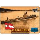 Подводная лодка UB14 1916г