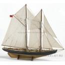 Модель корабля Bluenose