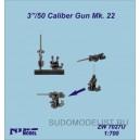 "3""/50 Caliber Gun Mk. 22"