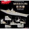 WW II  USN Battleship Missouri(16''Metal Barrel(9)