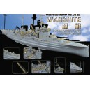 WW II RN Battle Ship Warspite for Academy 14105