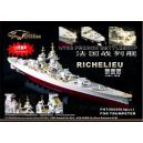 WW II   French Battleship Richelieu (For Trumpeter05750)