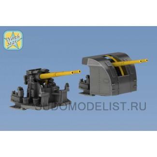 """Двойные орудия 4"""" (10.2 cm) Mark XVI"""