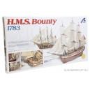 HMS Bounty с разрезом