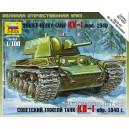 Советский танк КВ-1 обр. 1940г