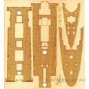 Деревянная палуба к крейсеру Гаврилова