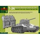 Комплект  траков Т-34 обр. 1942г(шевронные)